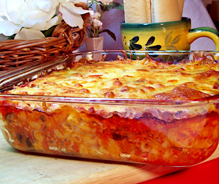 Image of Tryston's Hamburger Casserole