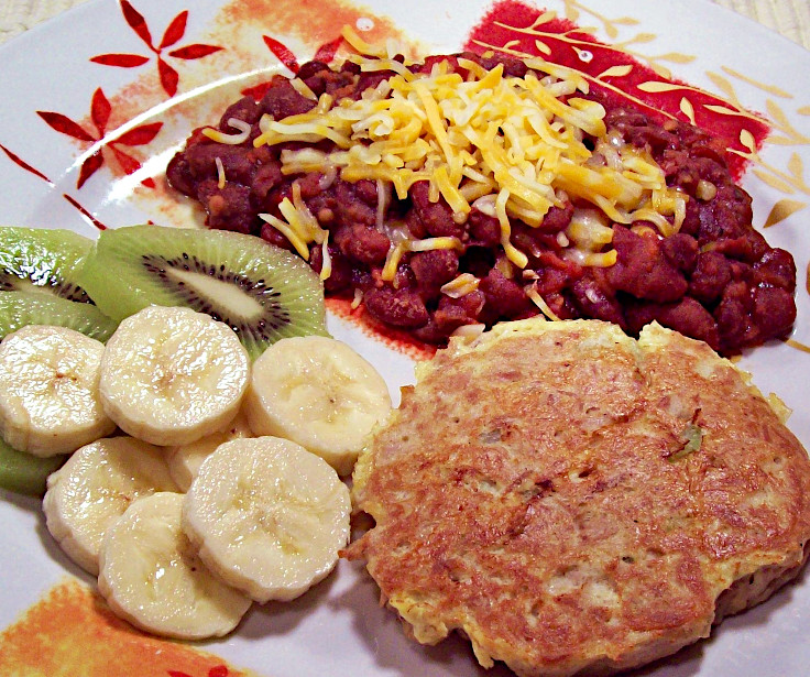 Image of Tuna Cake and Red Beans