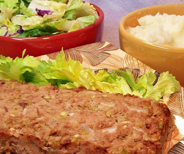 Image of Tuna Loaf and Mashed Potatoes