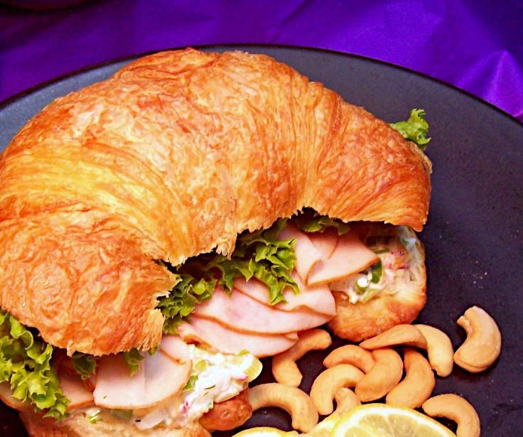 Image of Turkey Cashew Croissant