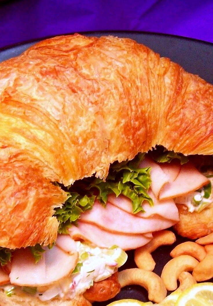 Turkey Cashew Croissant