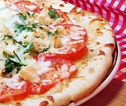 Turkey Cilantro Pizza