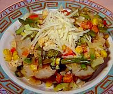 Vegetable Baked Potato Meal