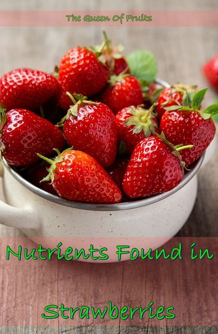 Nutrients Found in Strawberries