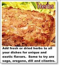 More Flavor Less Salt