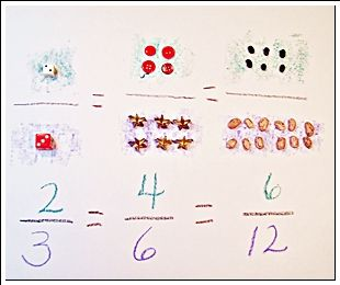 Buttons and Beans Fractions