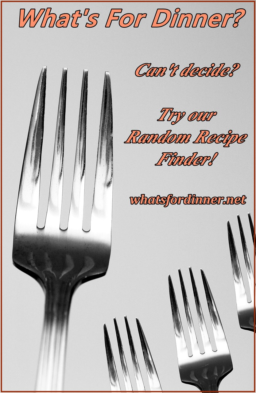 Try our Random Recipe Finder!