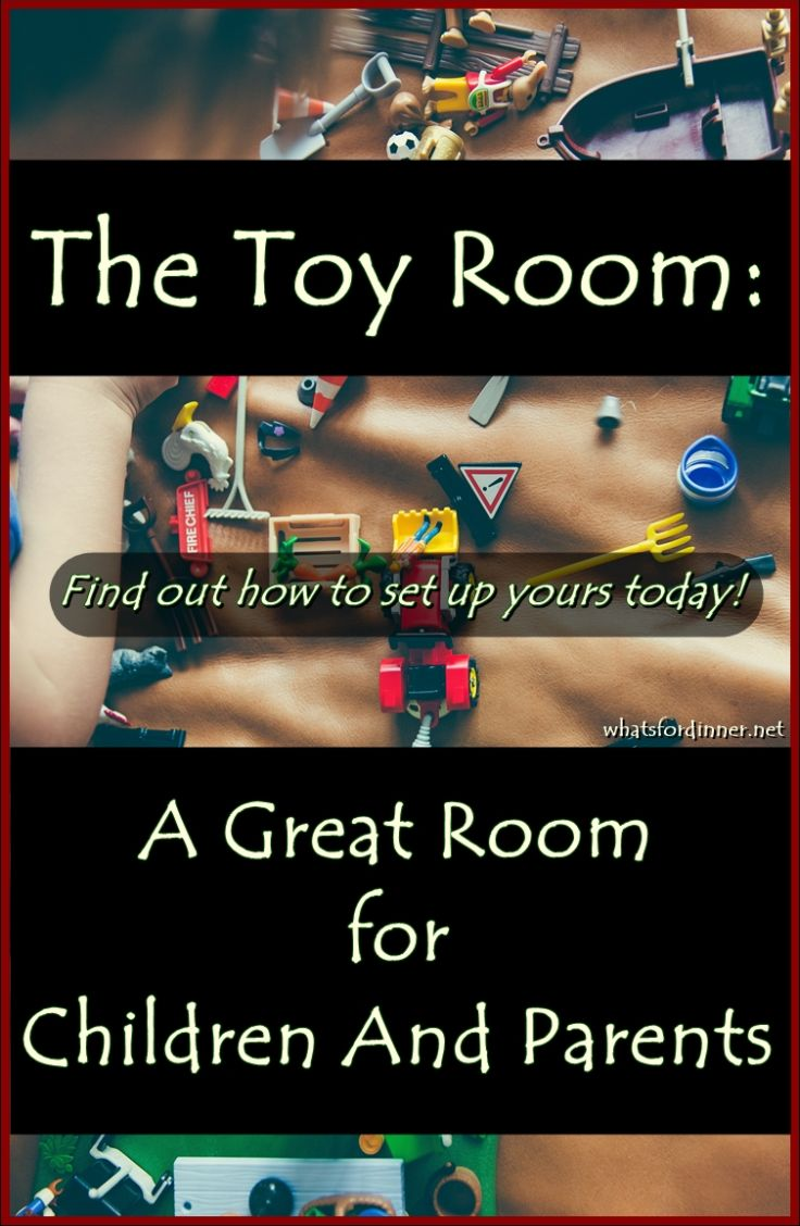 The Toy Room: A Great Room for Children And Parents