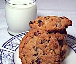 Image of Oatmeal Raisin Walnut Cookies