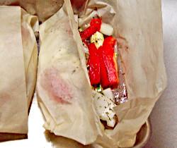 Parchment Baked Fish