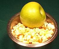 Popcorn and Apple