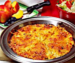 Potato Cheese Pie