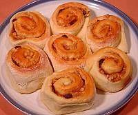 Raisin Nut Cinnamon Rolls