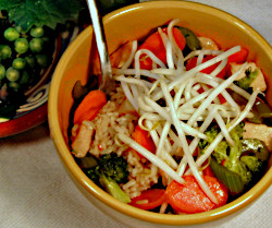 Recipe for Rice Bowl