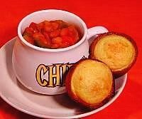 Skillet Chili with Corn Muffins
