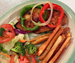 Southwestern Chicken and Pan Fries
