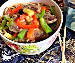 Image of Spicy Beef and Peppers
