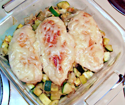 Summer Squash and Chicken Breast