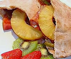 Teriyaki Pita Sandwiches