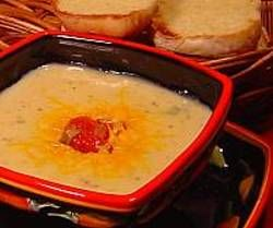 Toucan Soup with Toasted Sourdough Rolls