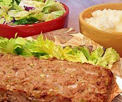 Tuna Loaf and Mashed Potatoes