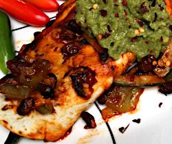 Zucchini, Black Bean, Spinach and Bell Pepper Vegan Enchiladas