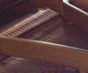 close-up Piano